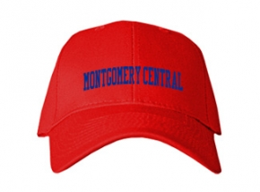 Montgomery Central High School Kid Embroidered Baseball Caps