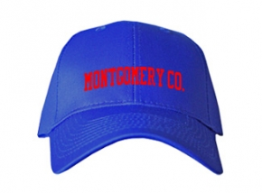 Montgomery Co. High School Kid Embroidered Baseball Caps