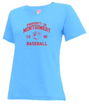 Montgomery High School V-neck Shirts