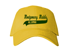 Montgomery Middle School Embroidered Baseball Caps