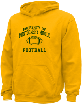 Montgomery Middle School Kid Hooded Sweatshirts