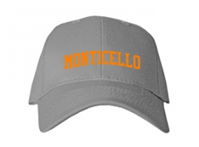 Monticello Elementary School Kid Embroidered Baseball Caps