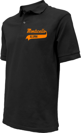 Monticello Elementary School Embroidered Polo Shirts