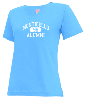 Monticello High School V-neck Shirts