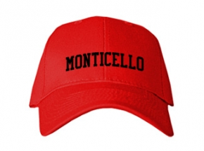 Monticello High School Kid Embroidered Baseball Caps