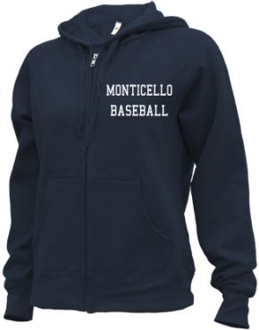 Monticello High School Zip-up Hoodies
