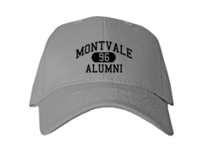 Montvale Elementary School Embroidered Baseball Caps