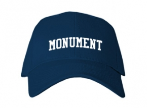 Monument High School Kid Embroidered Baseball Caps