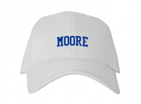Moore High School Kid Embroidered Baseball Caps