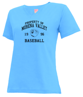 Morena Valley High School V-neck Shirts