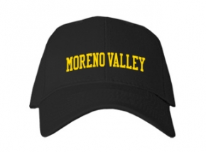 Moreno Valley High School Kid Embroidered Baseball Caps