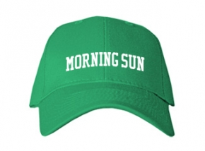 Morning Sun Elementary School Kid Embroidered Baseball Caps