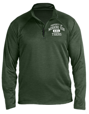 Morning Sun Elementary School Stretch Tech-Shell Compass Quarter Zip