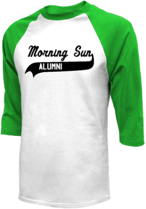 Morning Sun Elementary School Raglan Shirts