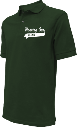 Morning Sun Elementary School Embroidered Polo Shirts