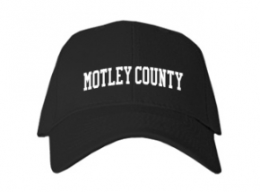 Motley County High School Kid Embroidered Baseball Caps