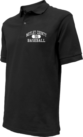 Motley County High School Embroidered Polo Shirts