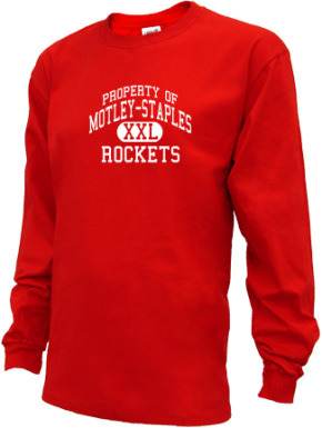 Motley-staples Middle School Kid Long Sleeve Shirts