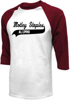 Motley-staples Middle School Raglan Shirts