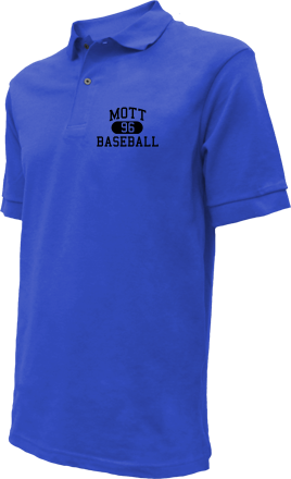 Mott High School Embroidered Polo Shirts