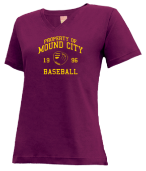 Mound City High School V-neck Shirts