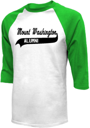 Mount Washington Elementary School Raglan Shirts