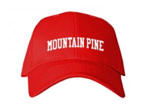 Mountain Pine High School Kid Embroidered Baseball Caps