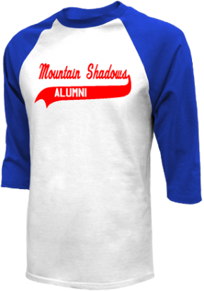 Mountain Shadows Elementary School Raglan Shirts