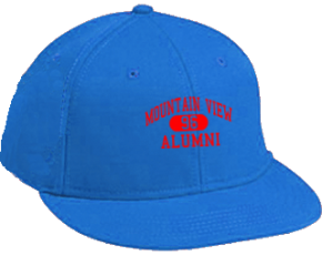 Mountain View Elementary School Flat Visor Caps