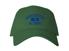 Mountain View Middle School Embroidered Baseball Caps
