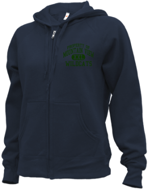 Mountain View Middle School Zip-up Hoodies