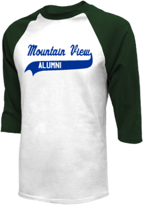Mountain View Middle School Raglan Shirts