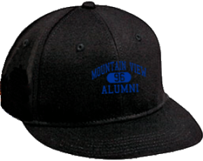 Mountain View Middle School Flat Visor Caps