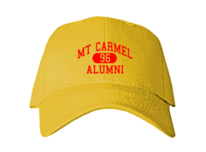 Mt Carmel High School Embroidered Baseball Caps