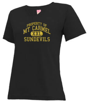 Mt Carmel High School V-neck Shirts