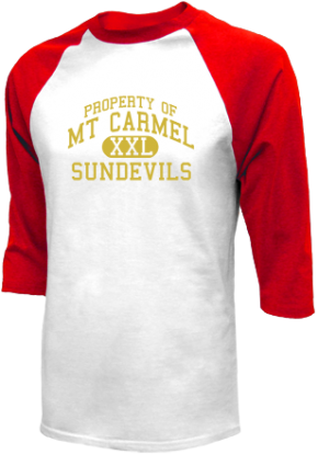 Mt Carmel High School Raglan Shirts