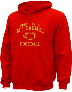 Mt Carmel High School Kid Hooded Sweatshirts