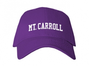 Mt. Carroll High School Kid Embroidered Baseball Caps