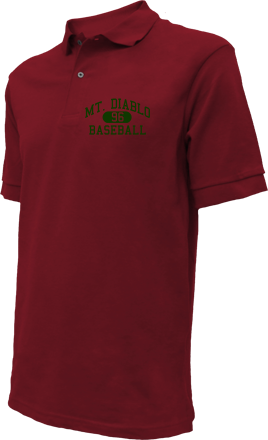 Mt. Diablo High School Embroidered Polo Shirts