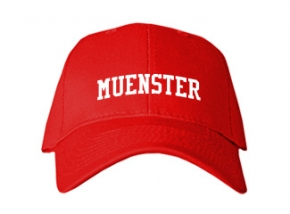 Muenster High School Kid Embroidered Baseball Caps