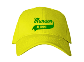 Munson Elementary School Embroidered Baseball Caps