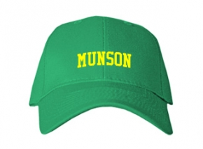 Munson Elementary School Kid Embroidered Baseball Caps