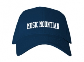 Music Mountian High School Kid Embroidered Baseball Caps