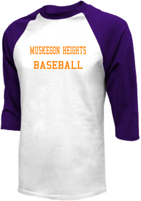 Muskegon Heights High School Raglan Shirts