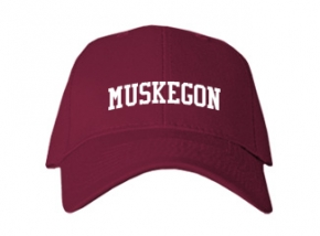 Muskegon High School Kid Embroidered Baseball Caps