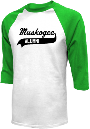 Muskogee 7th & 8th Grade Center Raglan Shirts