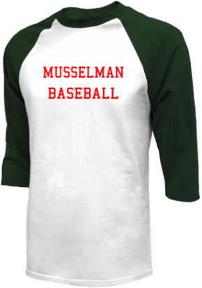 Musselman High School Raglan Shirts