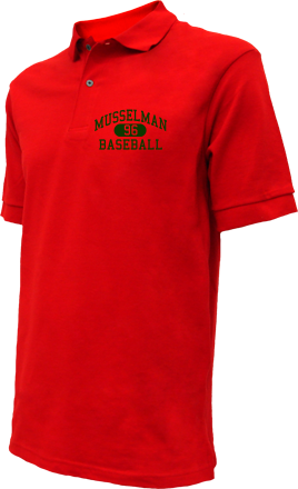 Musselman High School Embroidered Polo Shirts
