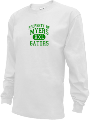 Myers Middle School Kid Long Sleeve Shirts