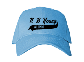 N B Young Middle Magnet School Embroidered Baseball Caps
